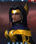 Black Valkyrie 7 Face by Fireheart5150