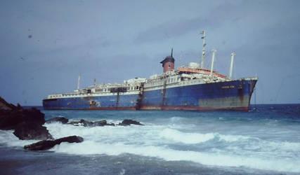 SS American Star -Fuerteventura 1994- by Knalljaas