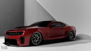 Camaro Wip with textures WIP