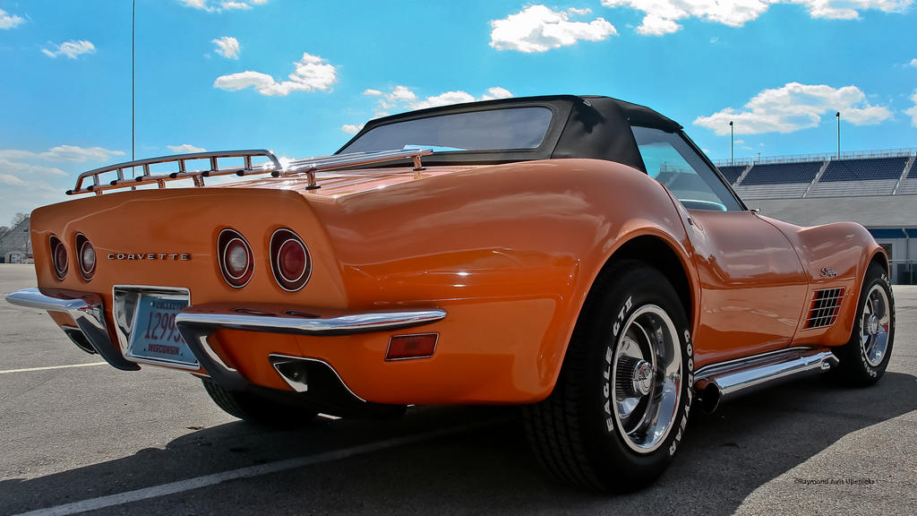 corvette c3 convertible angle one by rimete - Convertible Angle
