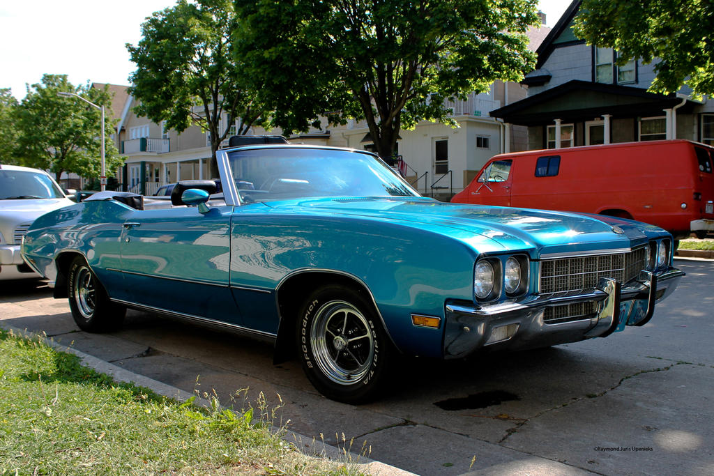 Buick Convertible In Blue