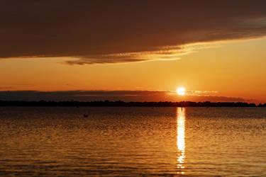 Sunrise over Lake Michigan - 04-14-2021