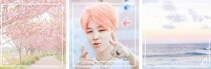 Pastel Jimin Aesthetic Divider by 6BTs