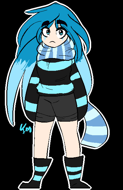 ~Pixel Art~ Icy by Cuteicypaw