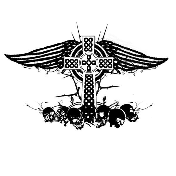 Celtic Cross Tattoo by ryanschipper89