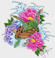 Sea Turtle by ryanschipper89