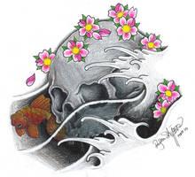 Skull In The Water by ryanschipper89