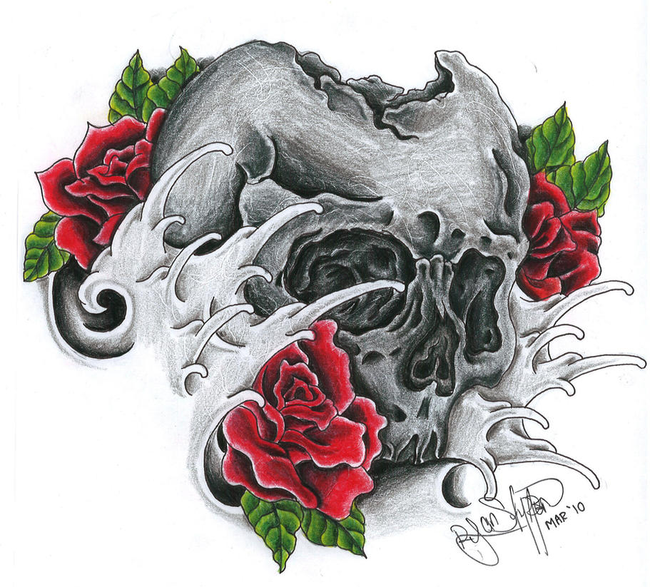 Skull by ryanschipper89
