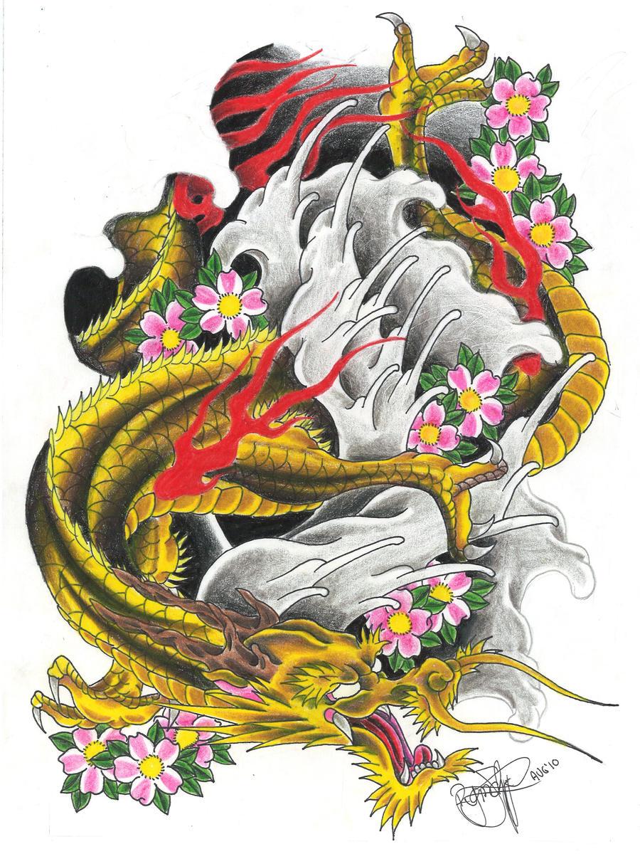 Golden Dragon by ryanschipper89