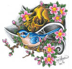 The Skull and Sparrow