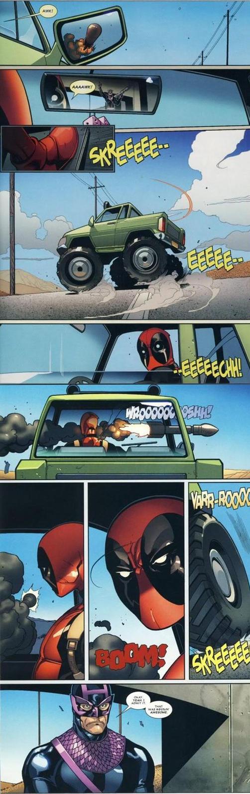 Deadpool Is Batcrap Awesome by sliceoffriedgold