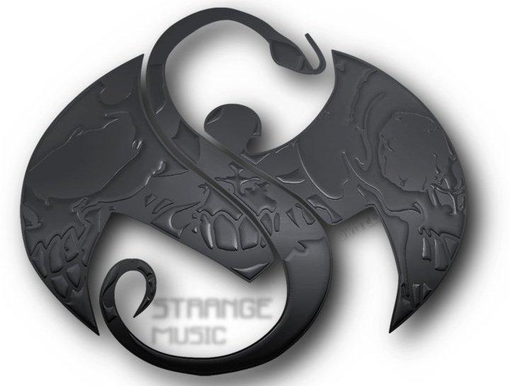 Strange Music Logo Black