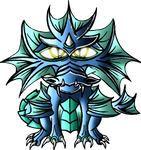 Little Water Dragon by InfinityFangX
