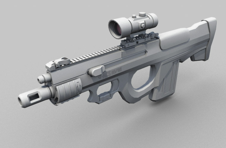 CQB Rifle Variant by Shimmering-Sword on DeviantArt