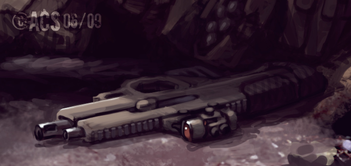 CQB 50cal : Preview by Shimmering-Sword on DeviantArt