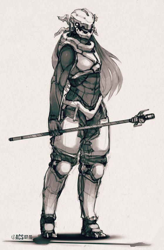 Light Power Armor by Shimmering-Sword