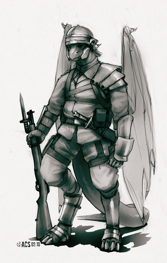 Arcadian Legionnaire by Shimmering-Sword
