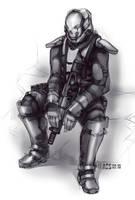 FLAK Assault Suit by Shimmering-Sword