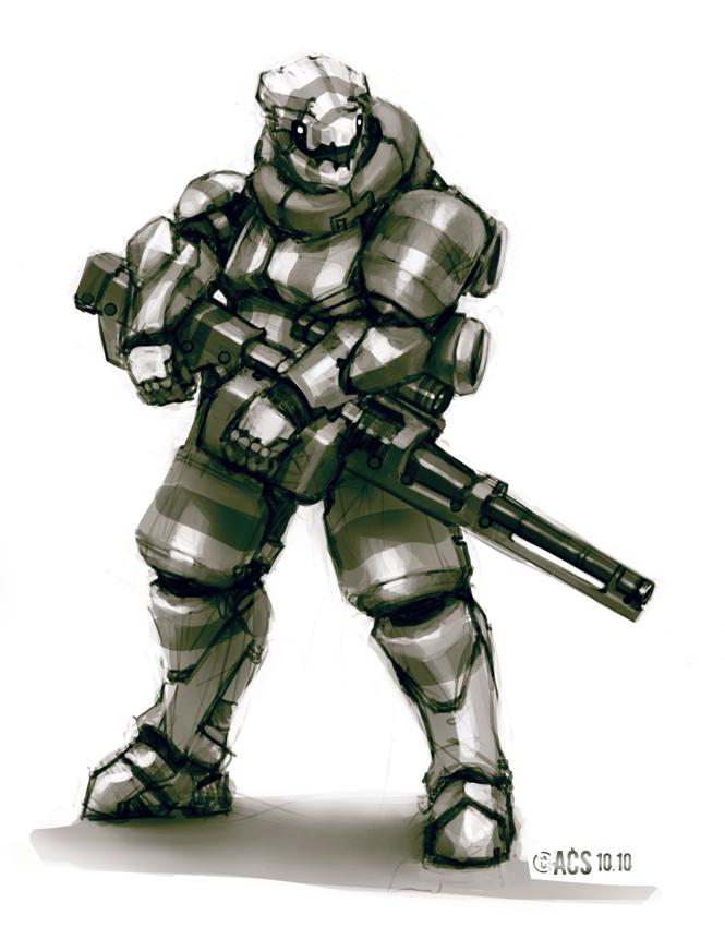 Medium Power Armor by Shimmering-Sword