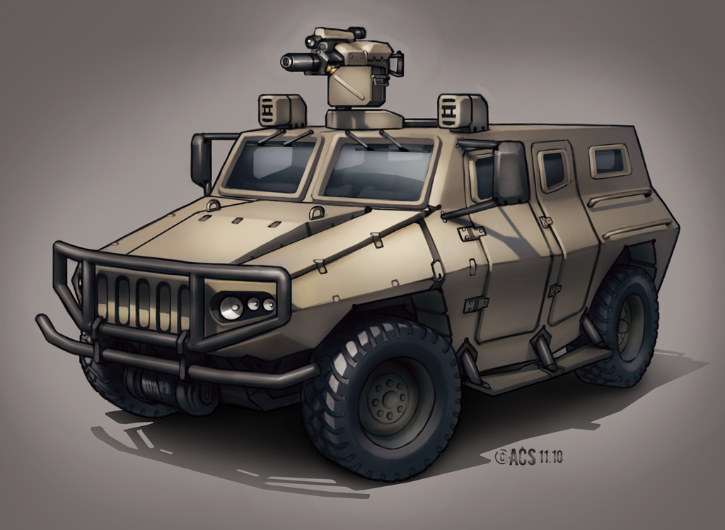 Contact - Military AUV by Shimmering-Sword