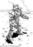 Battletech - Hermes II by Shimmering-Sword