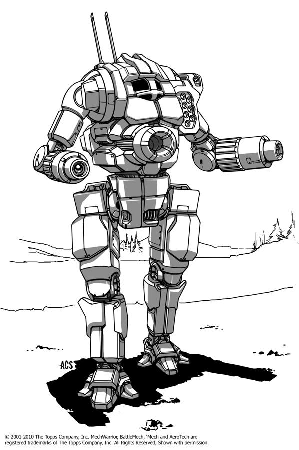 Battletech - Orion by Shimmering-Sword