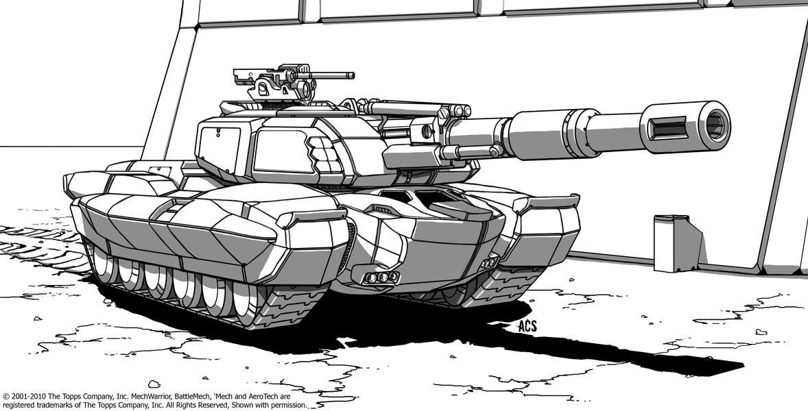 Battletech - Phalanx by Shimmering-Sword