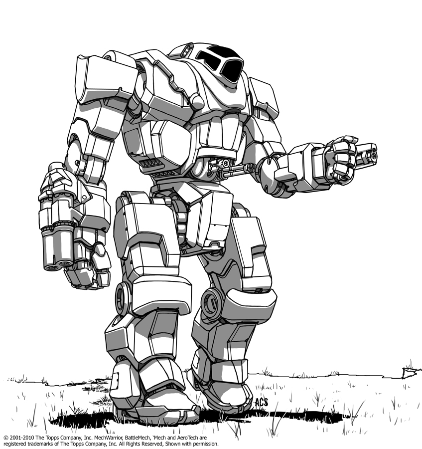 Battletech - Sarissa by Shimmering-Sword