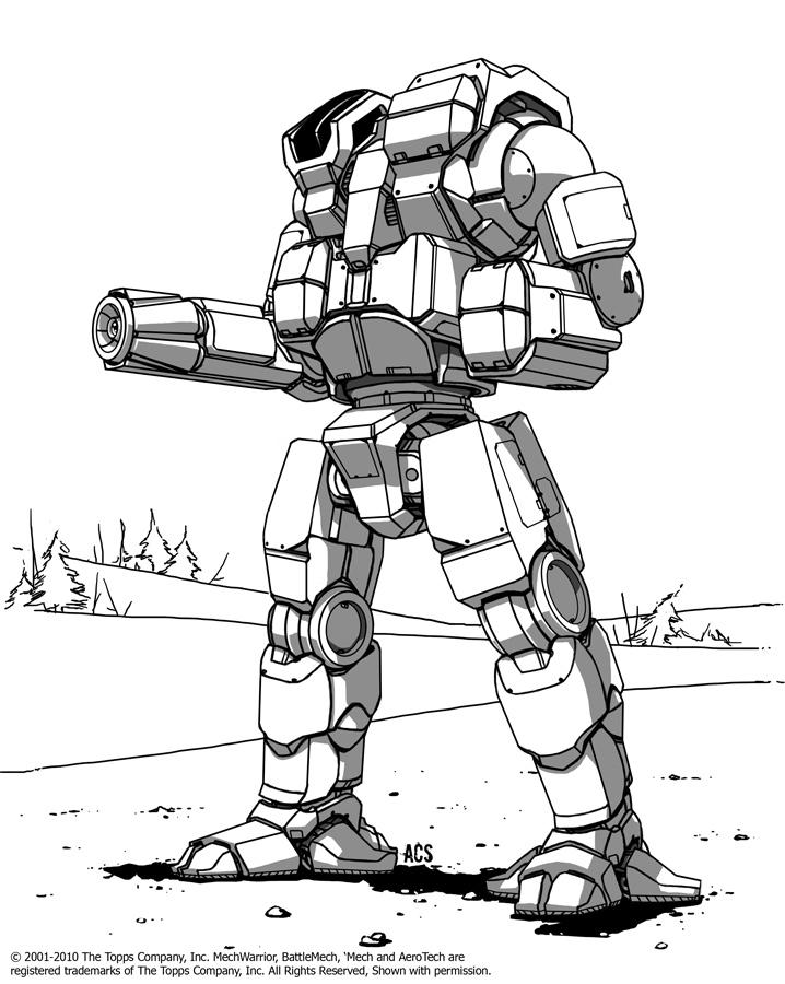 Battletech - Pandarus by Shimmering-Sword