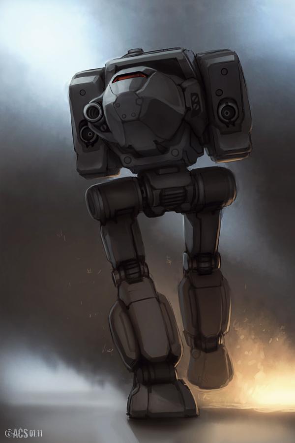 Mech Warrior - Stalker