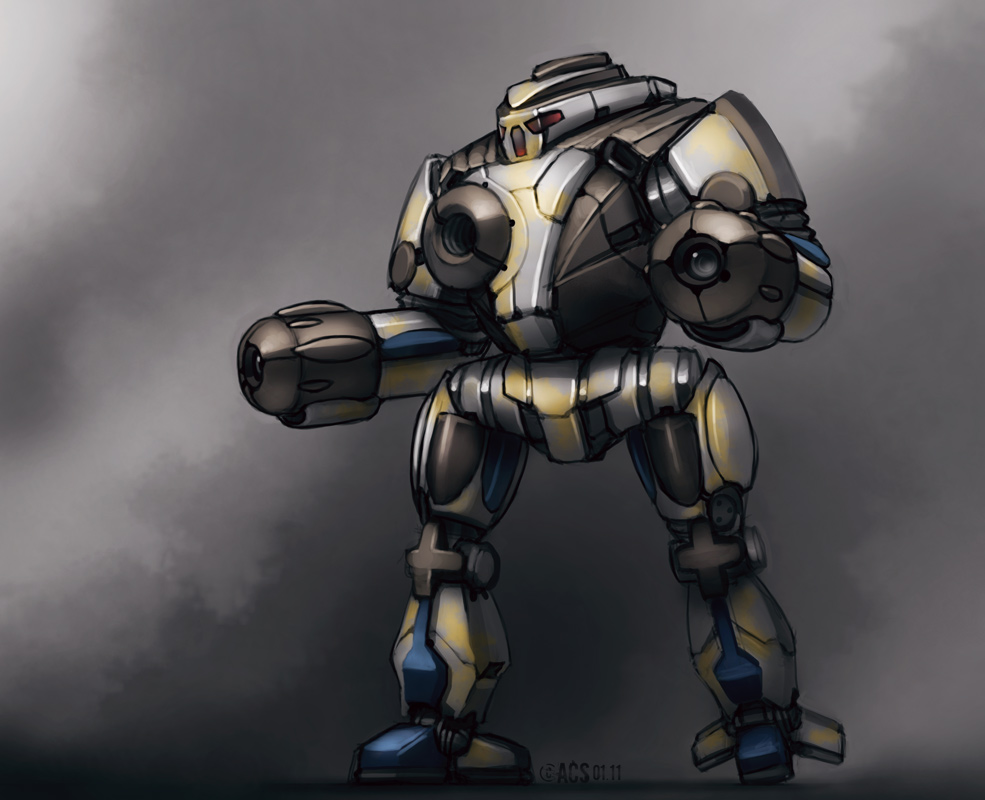Mech Warrior - Tai Sho by Shimmering-Sword