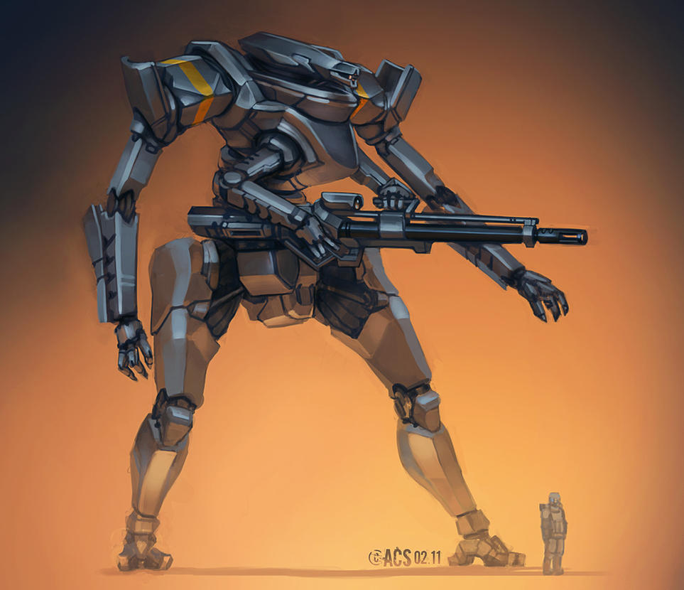 Epitome Of Armor - Mecha by Shimmering-Sword