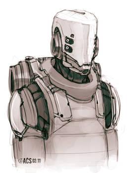Sketch Infantry