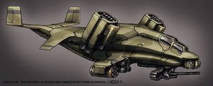 Contact Vtol Transport Gunship