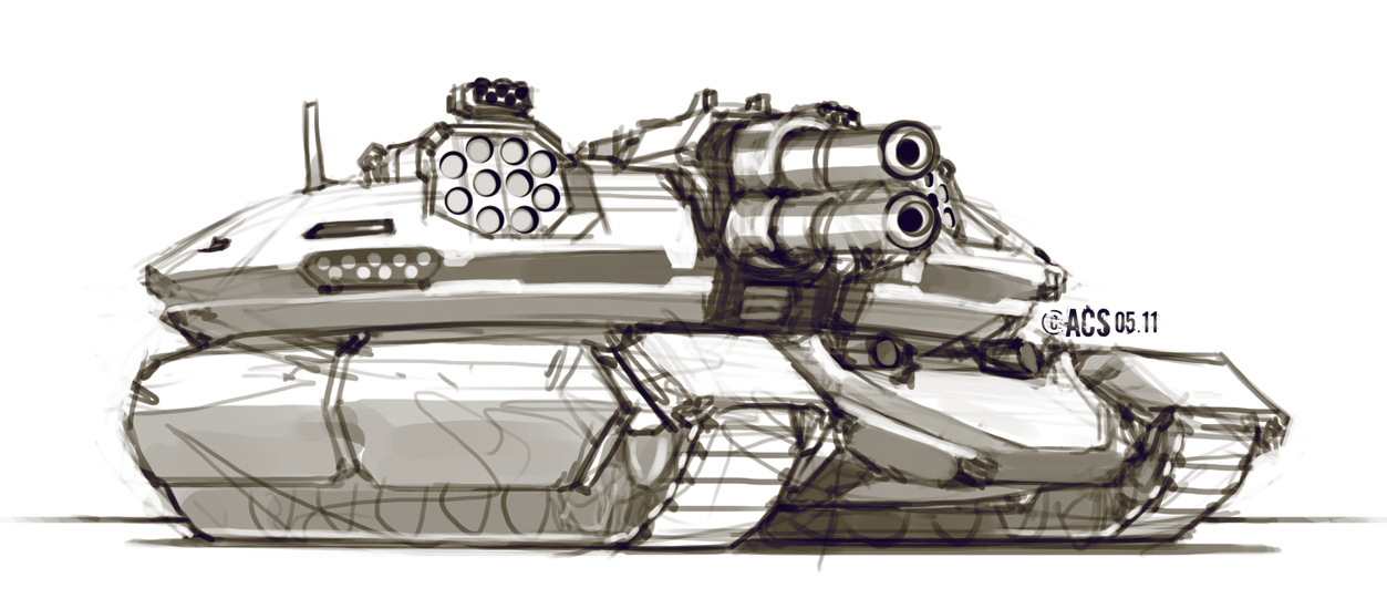 Assault Tank by Shimmering-Sword