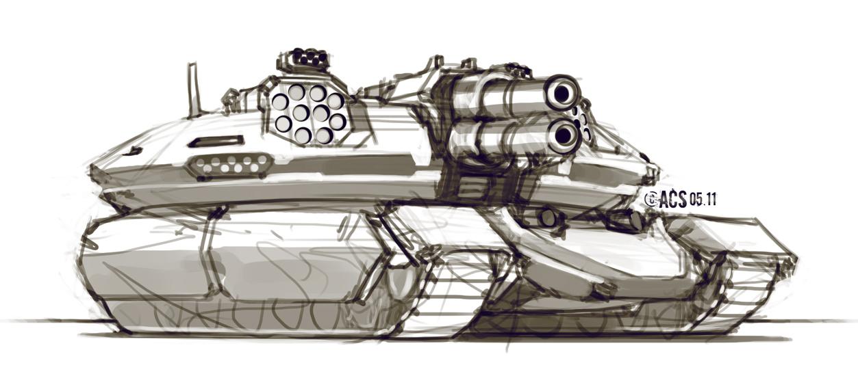 Assault Tank by Shimmering-Sword