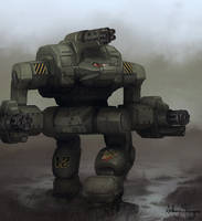Battletech - Warthog by Shimmering-Sword
