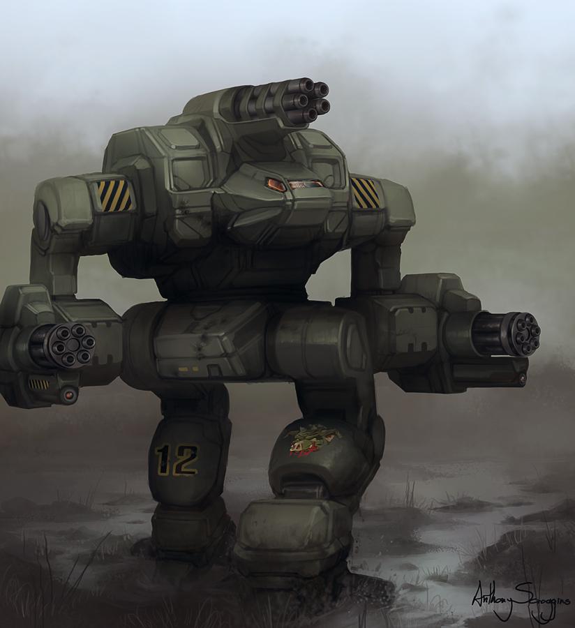 Battletech - Warthog by Shimmering-Sword