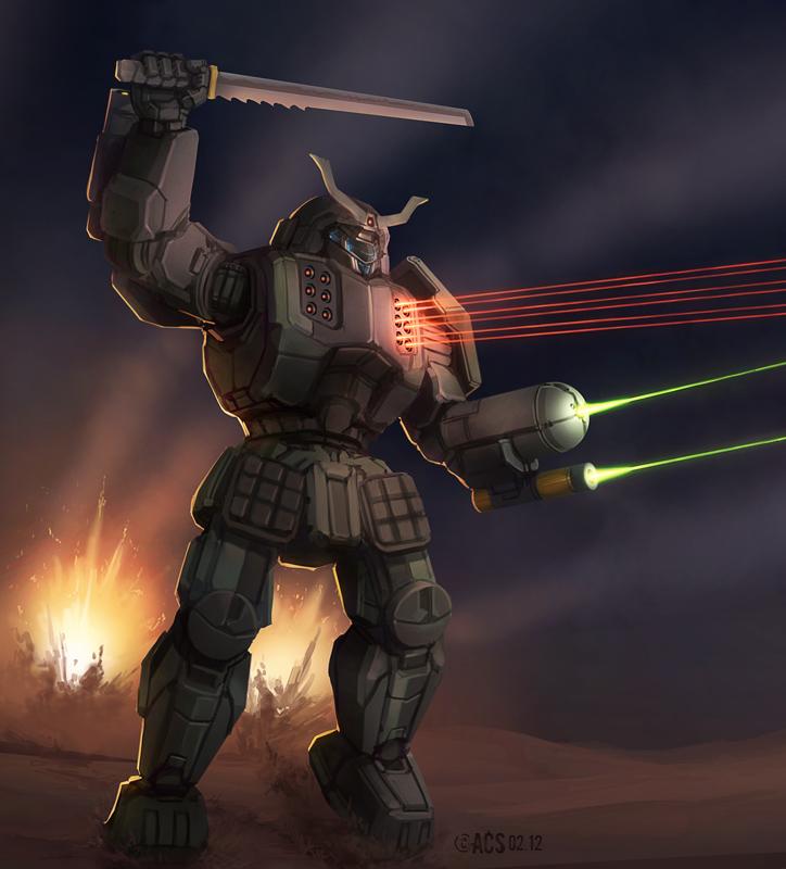 Battletech - Hatamoto Chi by Shimmering-Sword