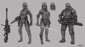 Commission - Soldier Classes