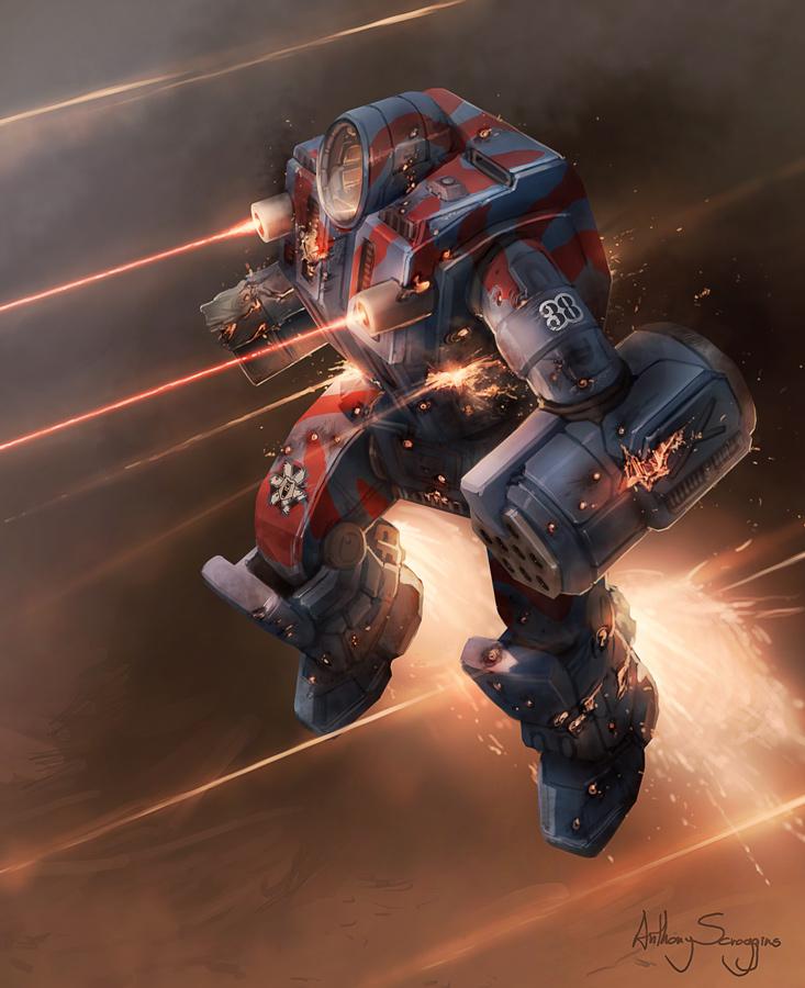 Battletech - Usling Assault by Shimmering-Sword