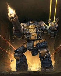 Battletech - Burrock by Shimmering-Sword