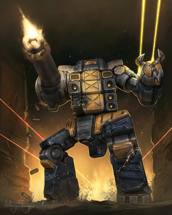 Battletech - Burrock by Shimmering-Sword