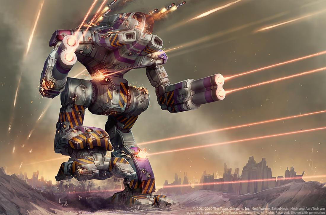 Battletech - Experimental Marauder by Shimmering-Sword