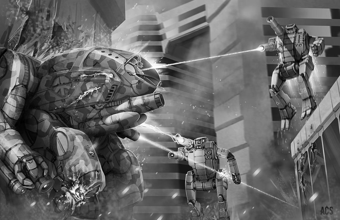 Battletech - Singapore by Shimmering-Sword