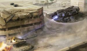 Commission - Tank Combat