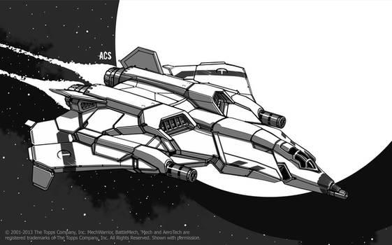 Battletech - Shikra Aerospace Fighter by Shimmering-Sword