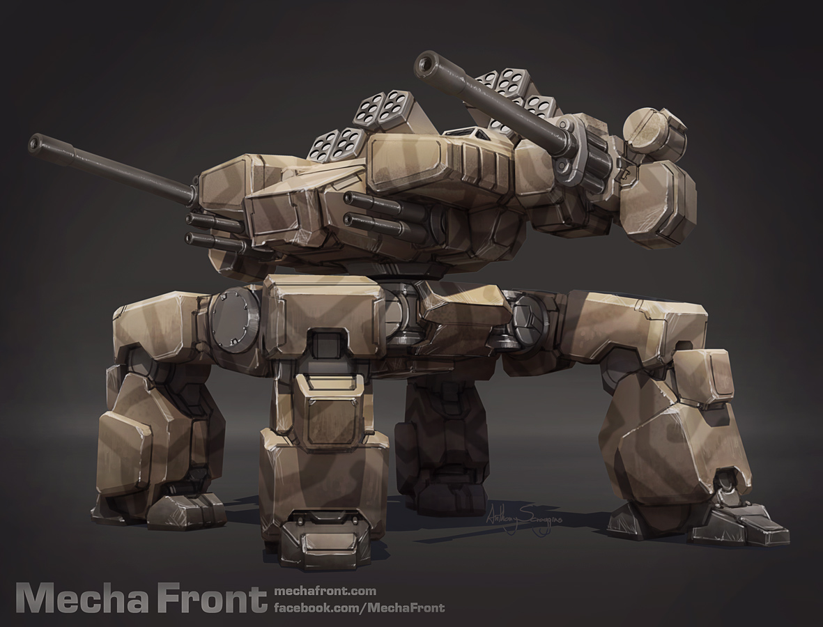 Mecha Front - Kodiak by Shimmering-Sword