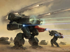 Battletech - Concussion by Shimmering-Sword