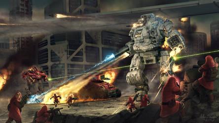 Battletech - Draconis Combine Sunder by Shimmering-Sword